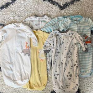 Bundle of 6 sleep sacks